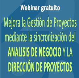 Webinar gratuito sobre el rol del Business Analyst y el ProjectManager