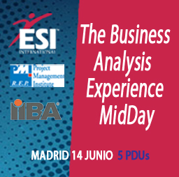 Conoce a los protagonistas del 1er Encuentro Business Analysis & Project Managers Madrid