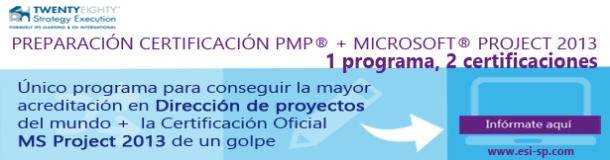 certificacion pmp y ms project
