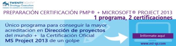 certificacion pmp y ms project
