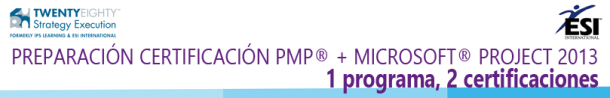 doble programa pmp y msproject