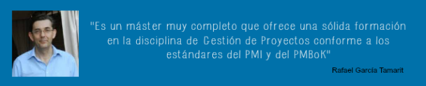 Master en Project Management y PMP