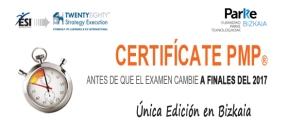 Celebramos el Programa de Certificación PMP como convocatoria exclusiva en el ParKeBizkaia